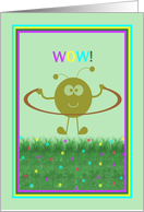 Developmental Jump Rope with Jumping Character card