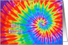 Tie-Dye Have a Great Trip card