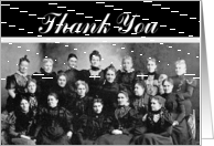 Thank You Vintage Ladies' Group card