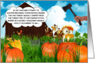 Tom the Turkey's Thanksgiving Adventures Continue card