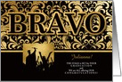 from All of Us Graduation - BRAVO Faux Gold Foil - Custom card