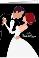 for the Bride and Groom on Their Wedding Day card
