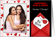 for Grandparents on Valentine's Day Custom Card from Grandchildren card