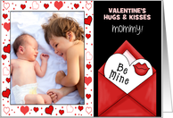for Mom on Valentine's Day Custom Card from Her Children card