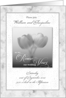 Marriage Vow Renewal Invitation card