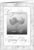For Daughter and Her Wife Wedding Congratulations card
