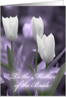 For the Mother of the Bride card