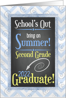 2nd Grade Graduate Congratulation Card