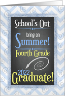 4th Grade Graduate Congratulation Card