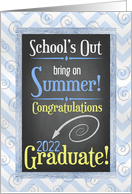 Highschool Graduation - Class of 2016 - Beach Chalkboard card