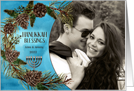 HappyHanukkah Personalized Photo Card