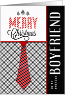 For Boyfriend at Christmas Masculine Card