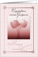 for Grandparents Renewing Wedding Vows card