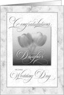 For Daughter Wedding Congratulationss card