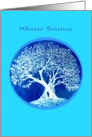 Winter Solstice, Big Tree card