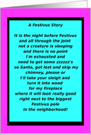 Happy Festivus, The Holiday for the Rest of Us, humor card