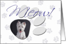April Fool's Day Greeting - featuring a West Highland White Terrier card