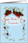 Happy Mother's Day Grandmother strawberries card