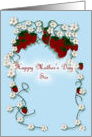 Happy Mother's Day sis Strawberries card