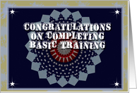 Congratulations on Completing Basic Training card