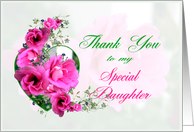 Thank You to Special Daughter card