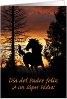 D�a del Padre feliz Father's Day Spanish card