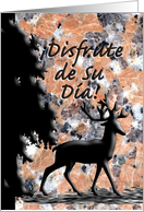 �Disfrute de Su D�a! Father's Day Spanish card