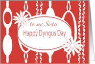 Sister Dyngus Day Rhyme Jewelry Design card