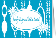 Invitation to Jewelry Party card