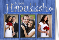 Happy Hannukah - Photo Card General Wishes card