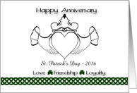 Congratulations on Your Wedding Day - St. Patrick's Day 2013 card