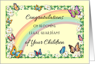 Congrats, Legal Guardians of Children, gay couple card