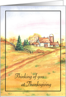 Thanksgiving/Remembrance card