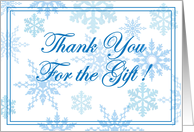 Christmas/Thank You card