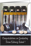 Graduation / Culinary School, Cooking Tools & Spices card