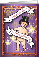 New Year / Birthday card