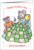 Mother's Day / To Great Grandma card