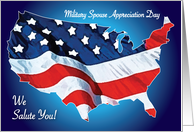 Holidays / Military Spouse Appreciation Day card