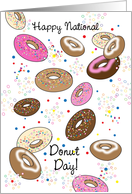 National Donut Day, June card