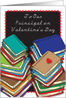 Valentine's Day / For School Principal card