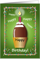 Birthday / To Football Fan, football card