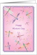 Mother's Day, Dragonflies card