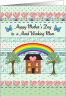 Mother's Day, Primitive Style card
