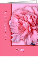 Carnation, Surprise Party card