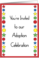 Adoption Party Invitation card