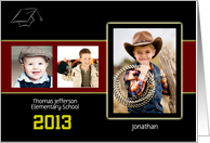 Graduation Announcement, Elementary School, Photo Card