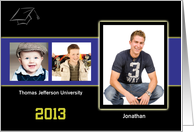 Graduation Announcement, College, Photo Card
