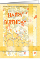 warm birthday wishes-great aunt card