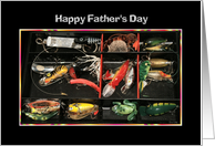 Happy Father's Day Fishing Tacklebox card