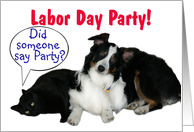 It's a Party, Labor Day Party card
